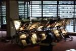 """""""ITF Jubileumsutställning"""", formgivning och konstruktion av  utställningssektion för 100-års jubileet i London, 2,6 m hög, ca 7 m lång International Transportworkers Federation, 1996"""