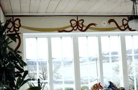 Dekoration, vinyl på vägg, Göteborg, 1997