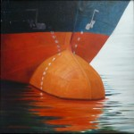 """Bulb"", olja på duk, 1998"