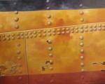 """""""Nitar"""", olja på duk, 60 cm x 73 cm 1998"""