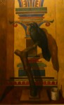 """Korp"", olja på masonit, 60 x 120 cm, 2003"