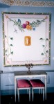 """""""Privatmatsal"""", vinyl på vägg, Herrljunga, 2005"""