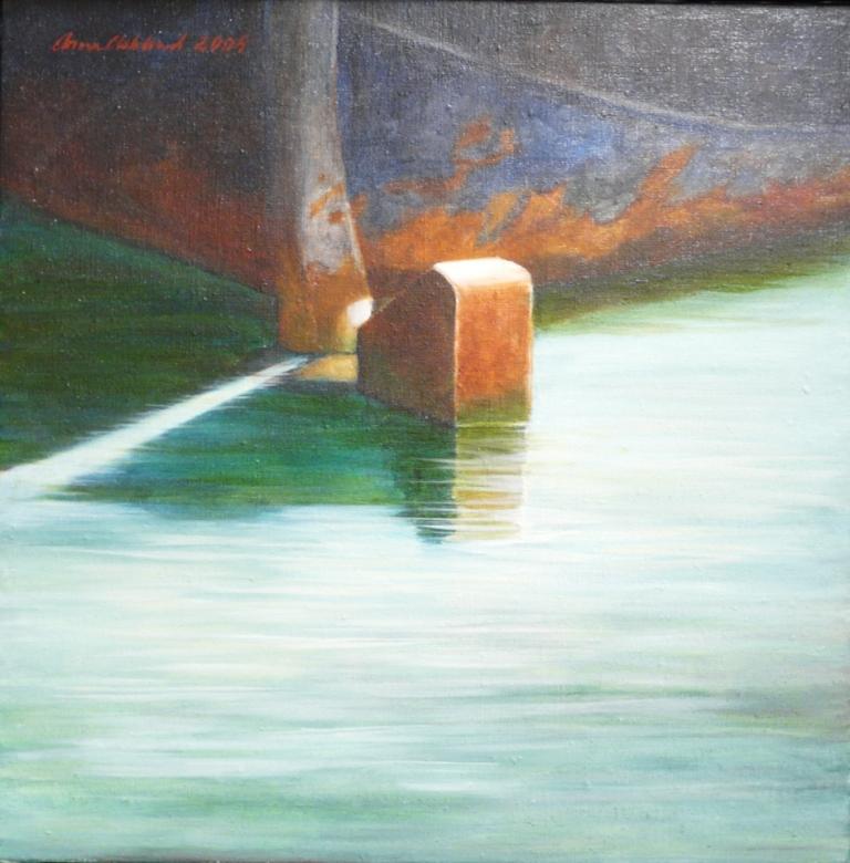 """Roder"", olja på duk, 2005"