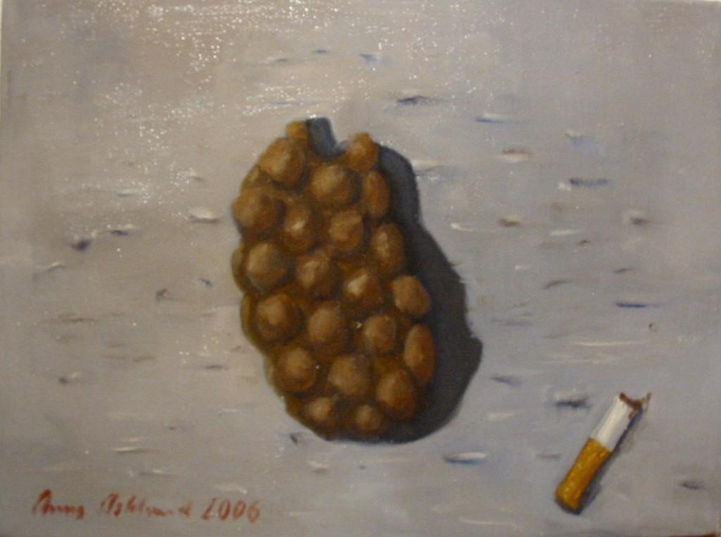 """""""Exkrement III"""", olja på duk, 2006"""