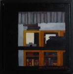 """Altorp 11"", olja på duk, 20 x 20 cm, 2007"