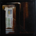 """Altorp 1"", olja på duk, 20 x 20 cm, 2007"