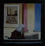 """Altorp 10"", olja på duk, 20 x 20 cm, 2007"