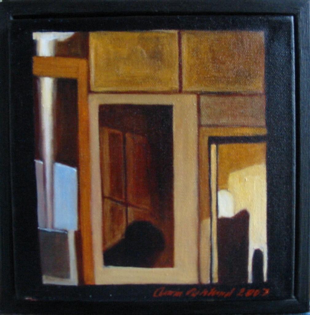 """Altorp 12"", olja på duk, 20 x 20 cm, 2007"