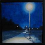 """Altorp 13"", olja på duk, 20 x 20 cm, 2007"