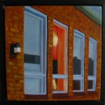 """Altorp 15"", olja på duk, 20 x 20 cm, 2007"