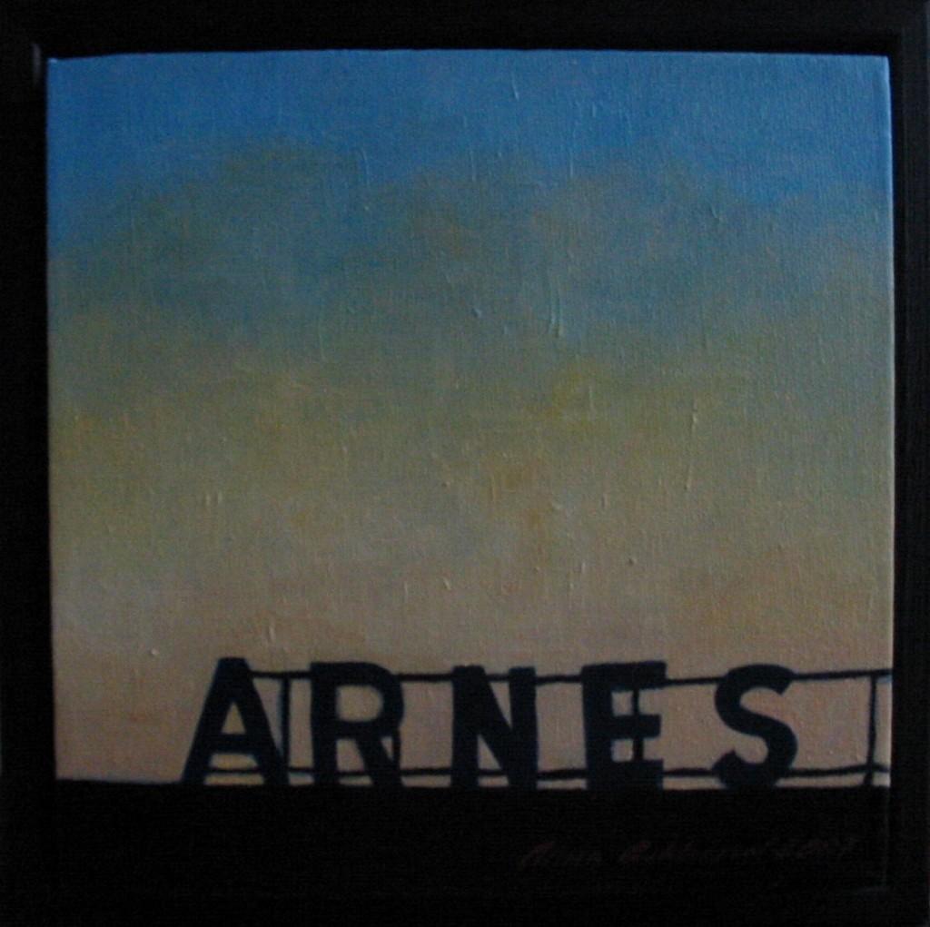 """Altorp 16"", olja på duk, 20 x 20 cm, 2007"