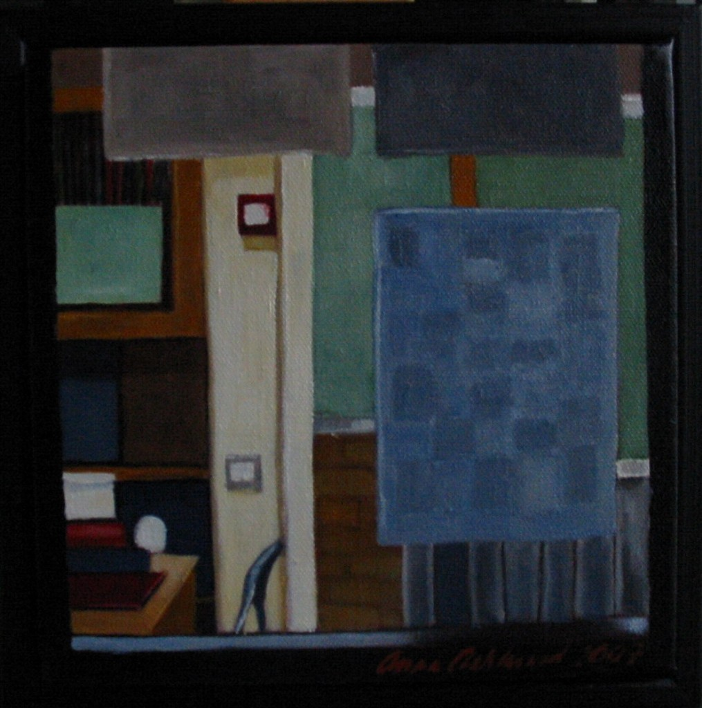 """Altorp 3"", olja på duk, 20 x 20 cm, 2007"