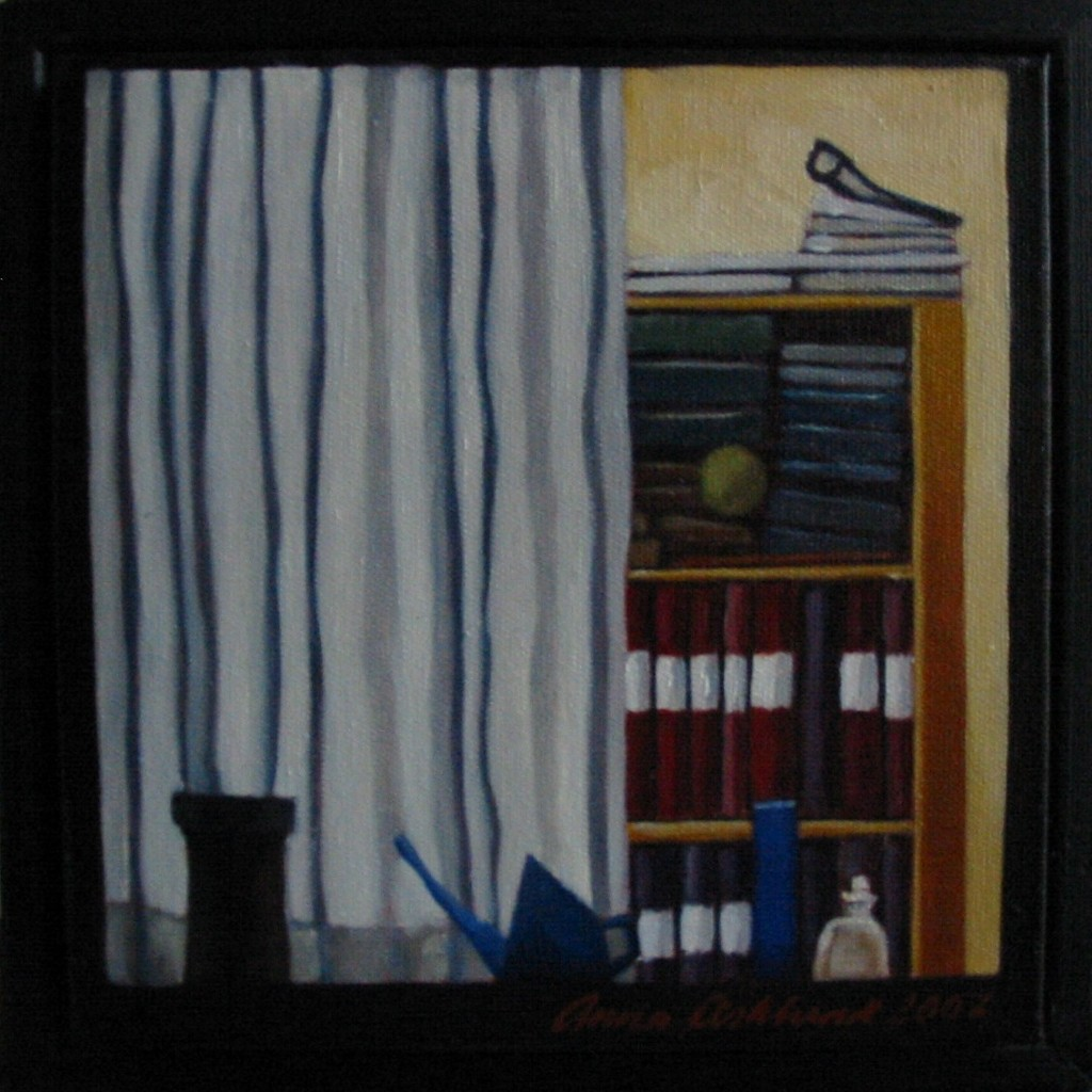 """Altorp 4"", olja på duk, 20 x 20 cm, 2007"