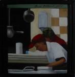 """Altorp 5"", olja på duk, 20 x 20 cm, 2007"