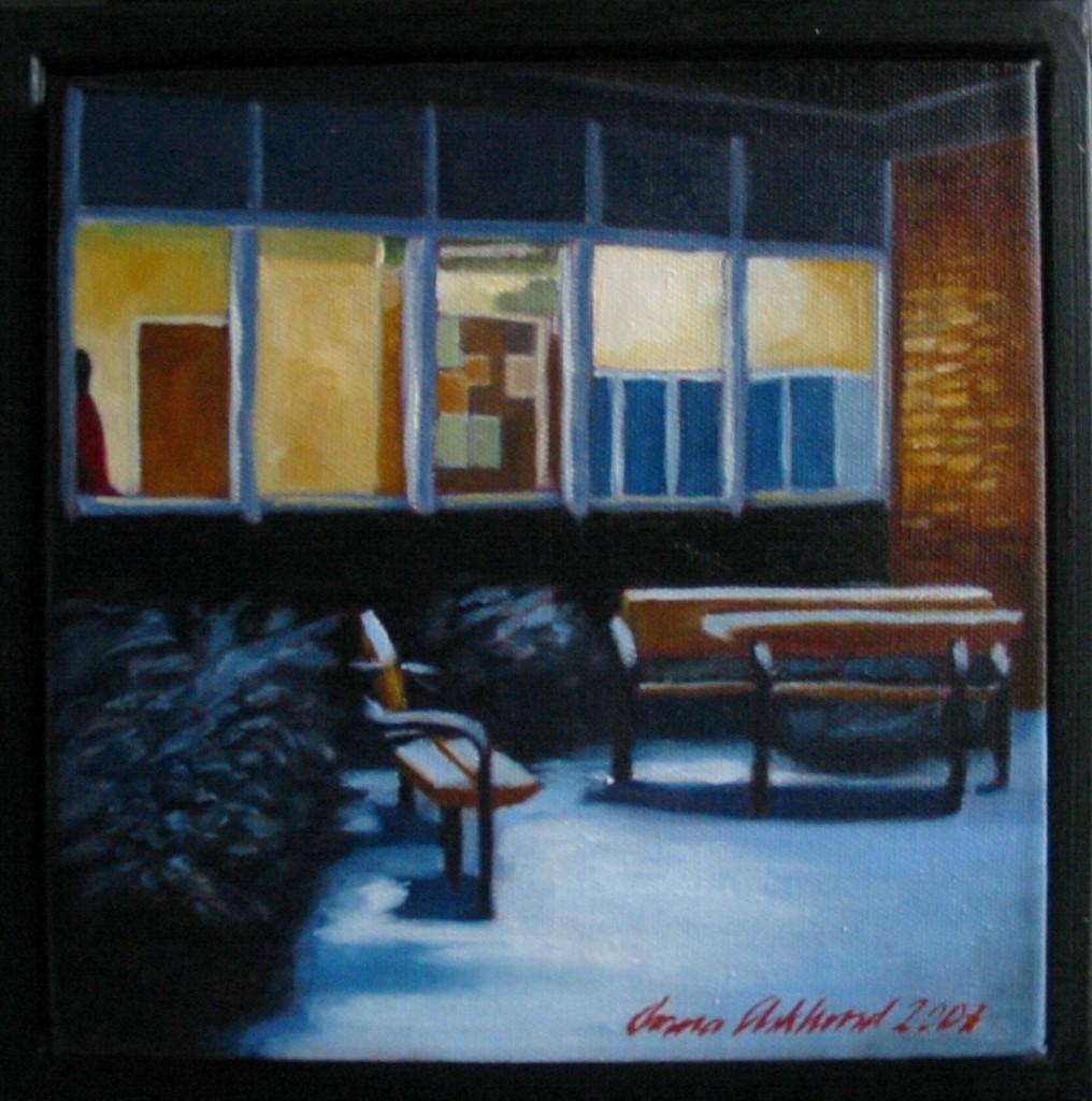 """Altorp 7"", olja på duk, 20 x 20 cm, 2007"