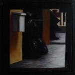 """Altorp 8"", olja på duk, 20 x 20 cm, 2007"