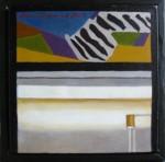 """Altorp 9"", olja på duk, 20 x 20 cm, 2007"