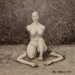 """Ojdå"", blyerts på papper, 2007"