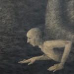 """""""Snigel"""", blyerts på papper, 2007"""