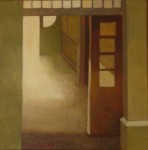"""Entré"", olja på duk, 30 x 30 cm, 2010"
