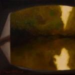 """Tunnel 1"", olja på duk, 20 x 20 cm, 2010"