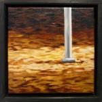 """""""Höst"""", olja på duk, 20 x 20 cm, 2010"""